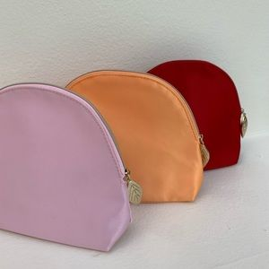 Clarins cosmetic Pouches Bundle